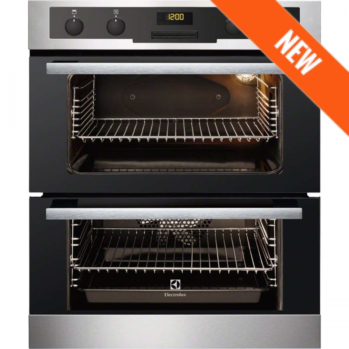 Electrolux EOU5420AOX NEW Integrated 60cm Stainless Steel Double.