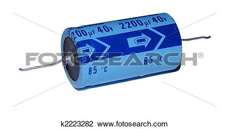 Stock Photo of Electrolytic Capacitor k2223282.