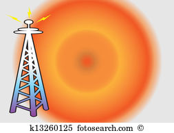 Electromagnetic waves Illustrations and Stock Art. 278.