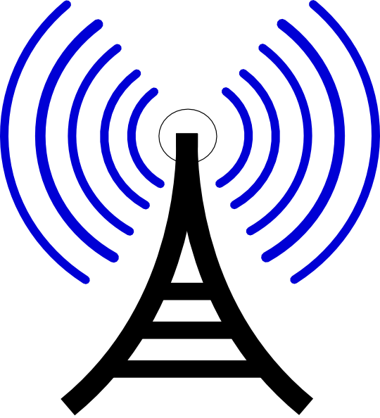 Radio Waves Clip Art at Clker.com.