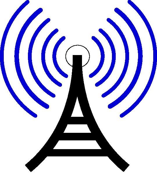 Radio Waves Clip Art at Clker.com.
