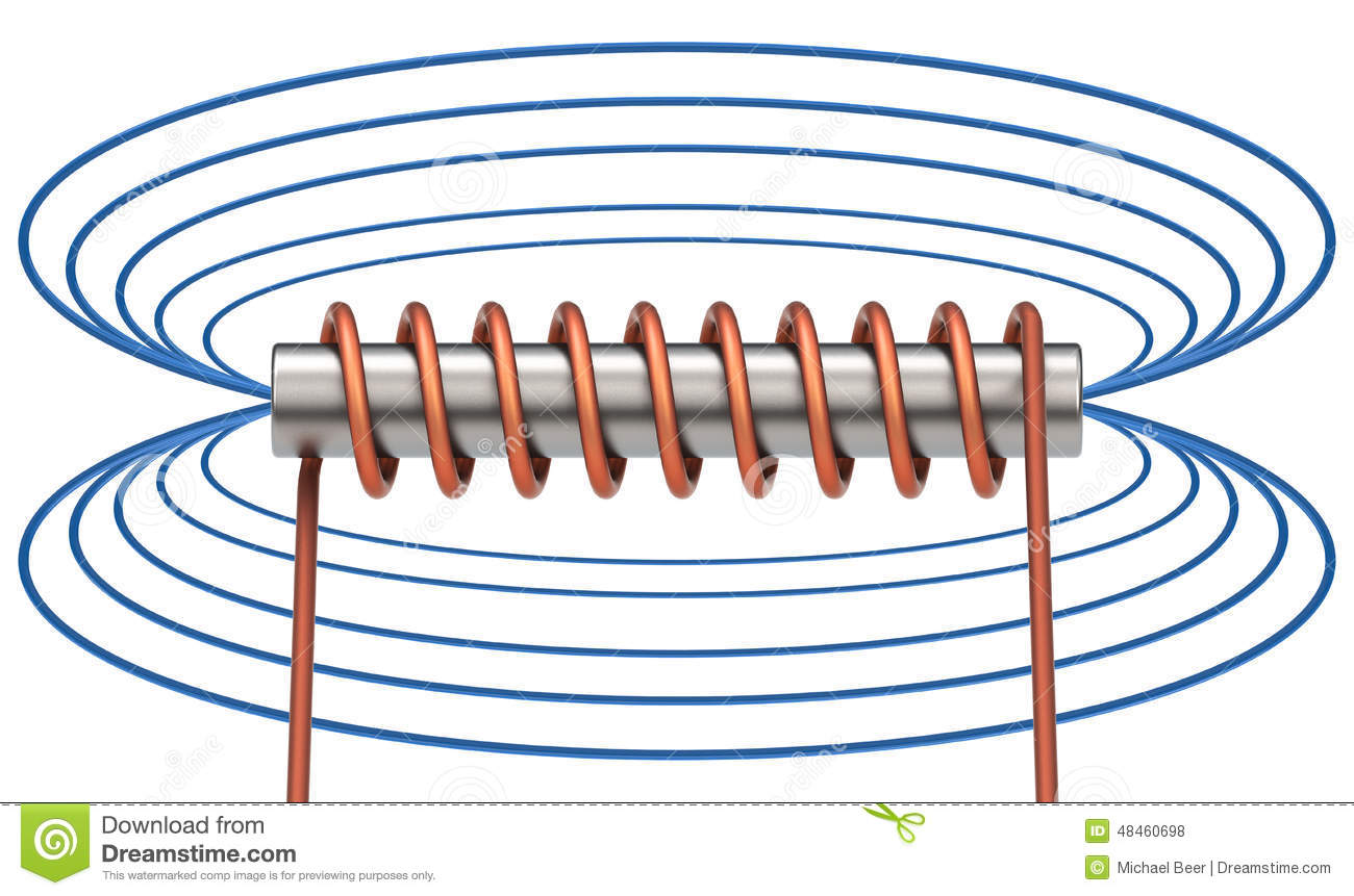 Electromagnetic Field Royalty Free Stock Photos.