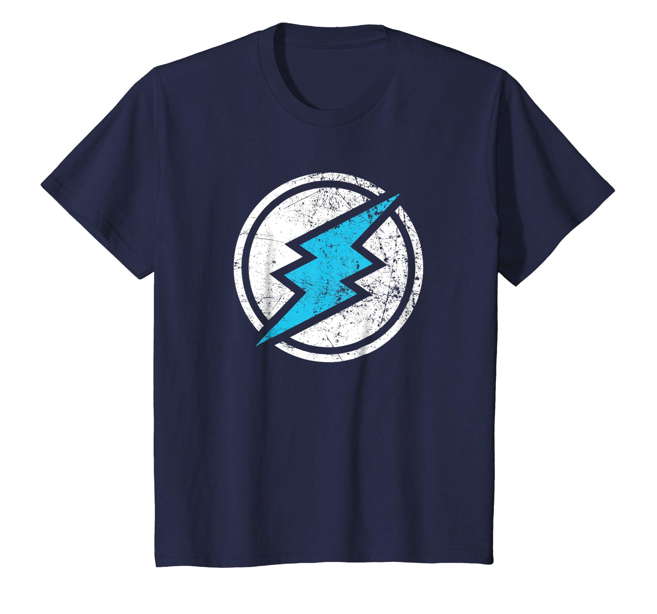 Amazon.com: Electroneum ETN Distressed Logo Dark Color T.
