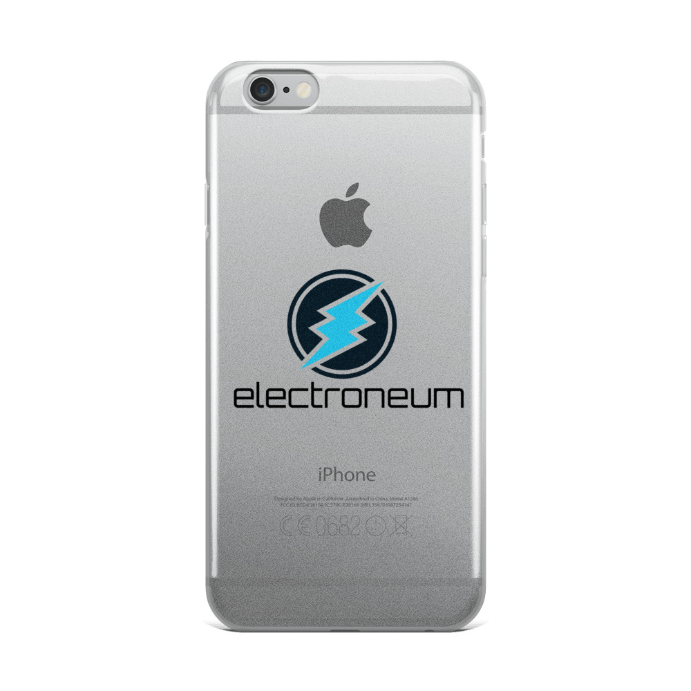 ETN Logo iPhone Case.