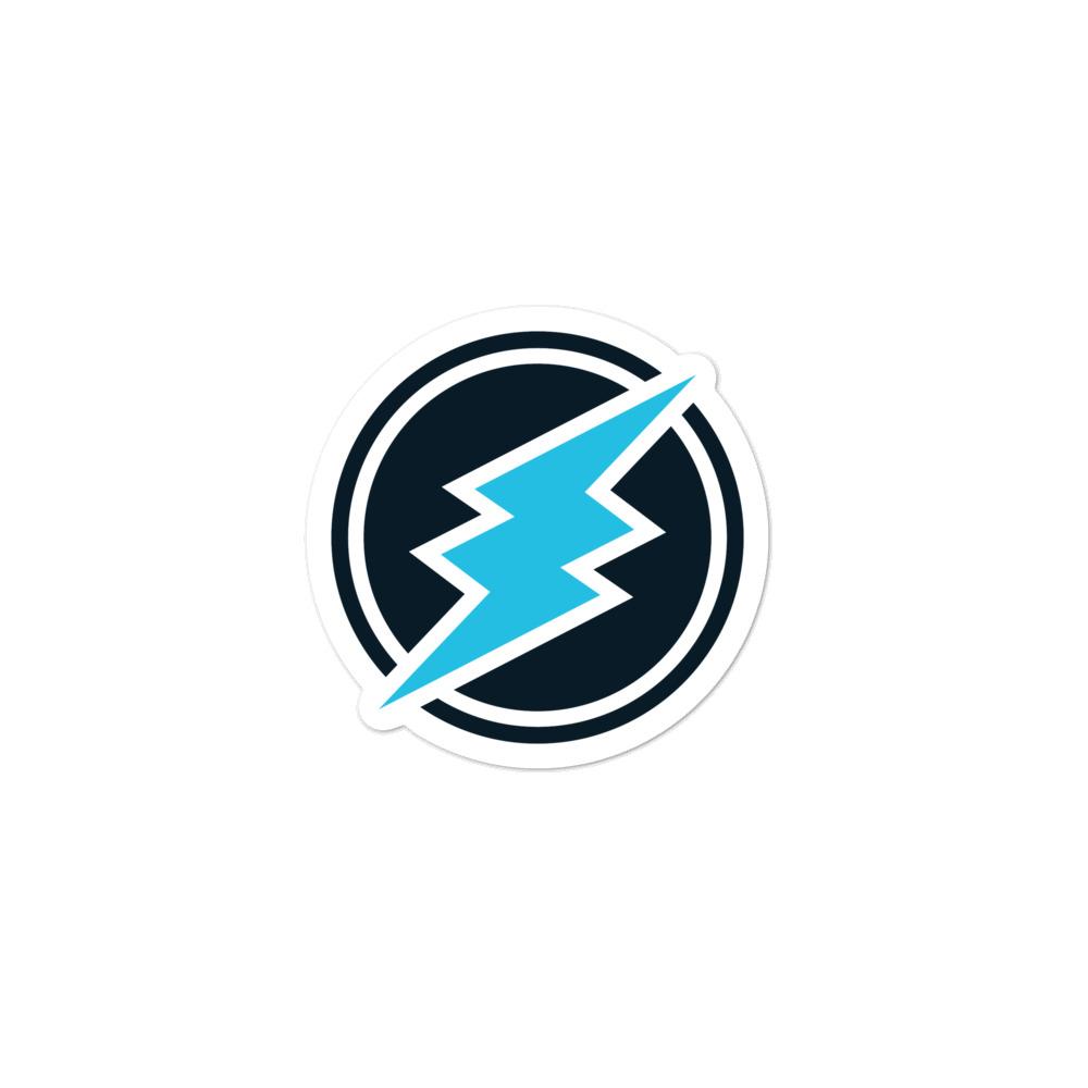 Electroneum Logo Sticker.