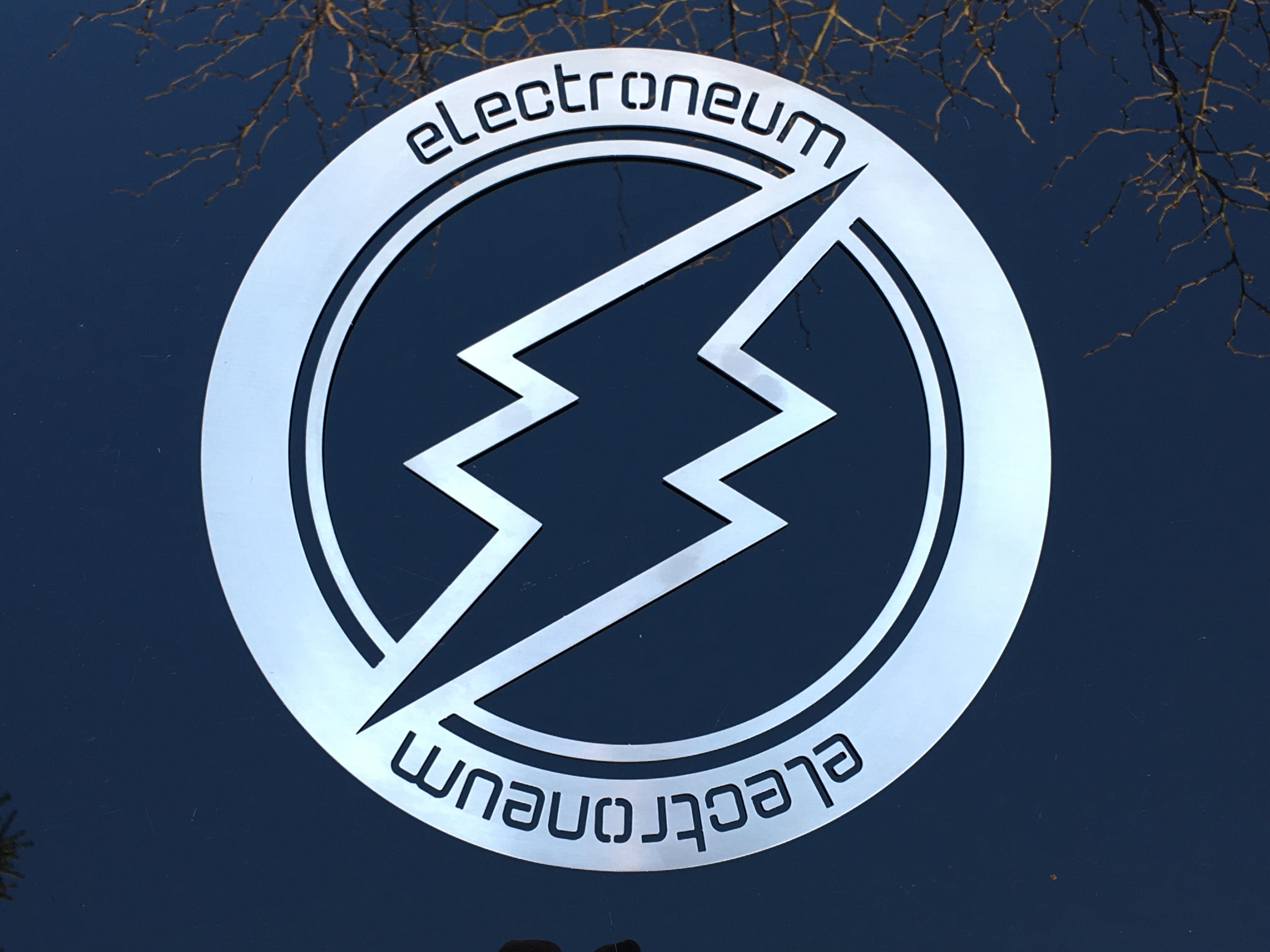 Large Electroneum Emblem.