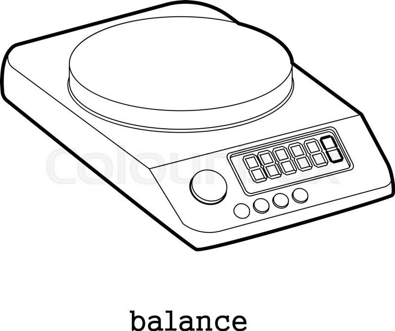 1553 Balance free clipart.