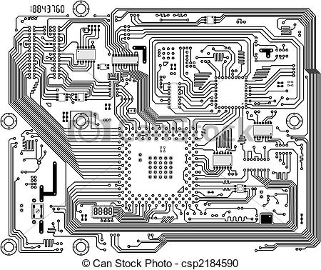 Electronic components Vector Clipart EPS Images. 9,922 Electronic.