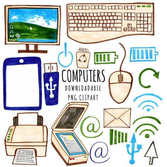 Computer Clipart Technology Clipart Geek Clipart Tech.