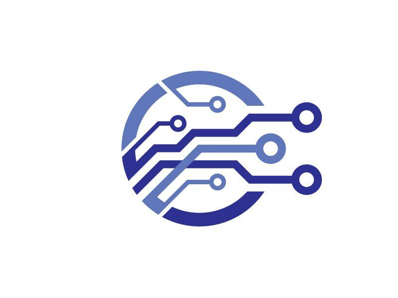 Electronic Chip Logo.