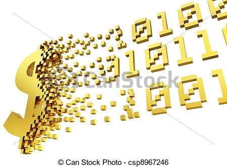 Electronic money Stock Illustration Images. 21,162 Electronic.