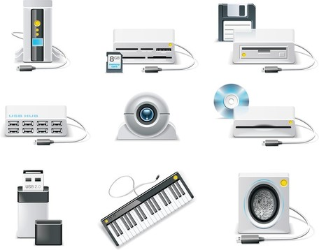 Electronic Products, Clipart.