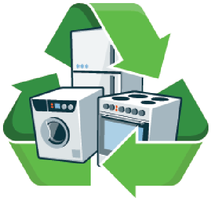 Recycle Large Electronic Appliances.