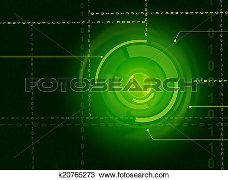 Drawing of Electronic Sensor Background Shows Laser Circuit Or.