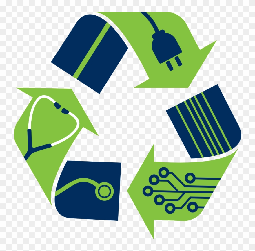 Electronic Waste Recycling Logo Electronic Waste Recycling.