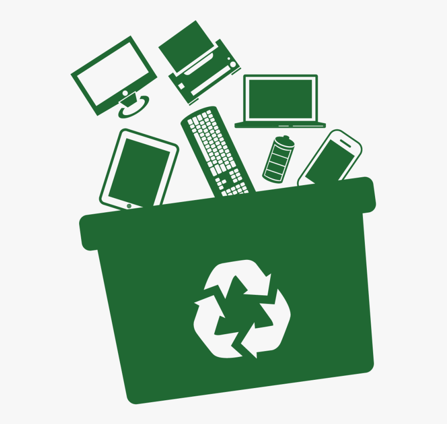 Clipart Computer Waste.