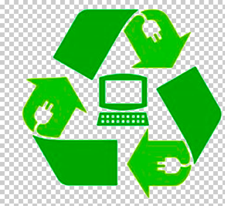 Computer recycling Electronic waste Electronics, recycle PNG.