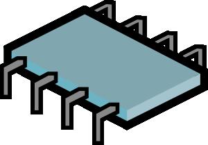 Electronics Micro Chip Clip Art at Clker.com.
