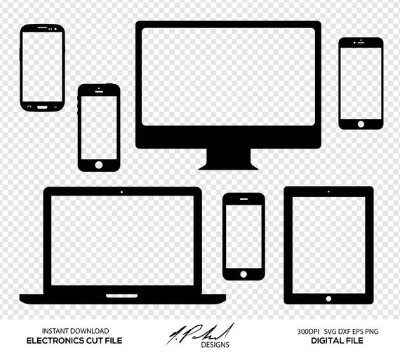 Electronics Digital Cut Files.