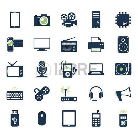 305,752 Electronics Icons Stock Vector Illustration And Royalty.