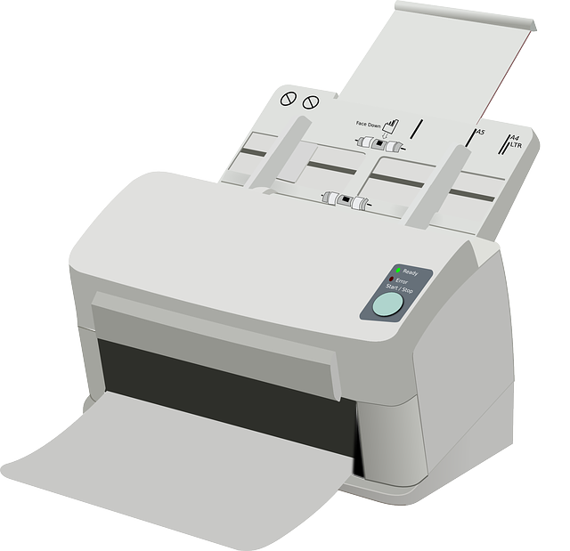 Free photo Printer Laser Printer Electrophotographic Printer.
