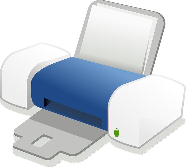 Free photo Printer Laser Printer Electrophotographic Printer.