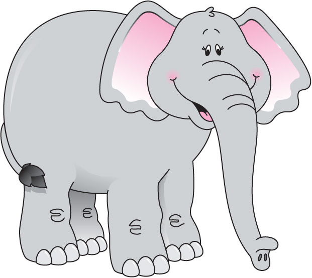 Elephant clipart - Clipground