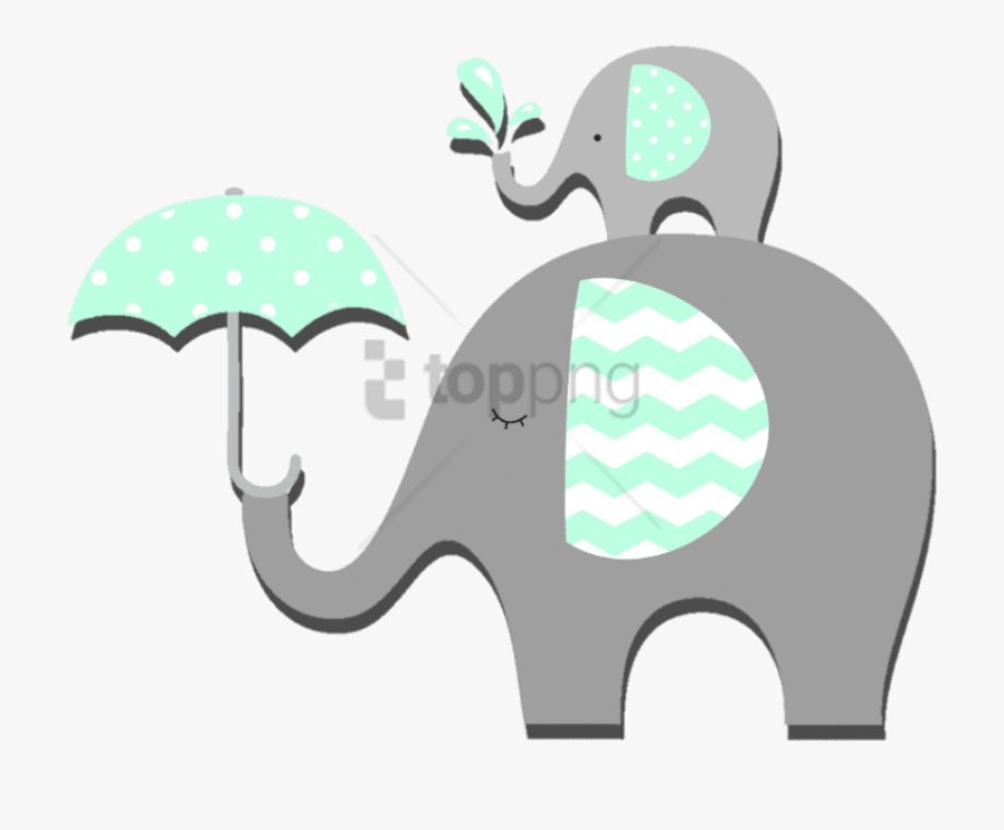 Baby Shower Elephant Png.