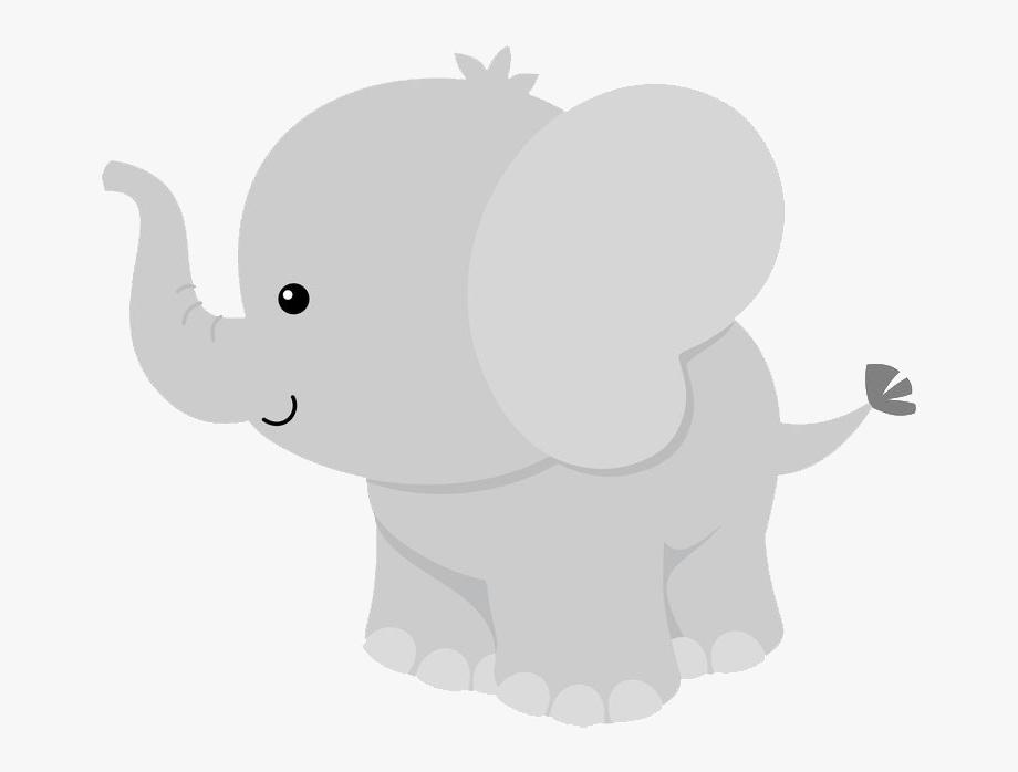Elefante Bebe Animado Png.