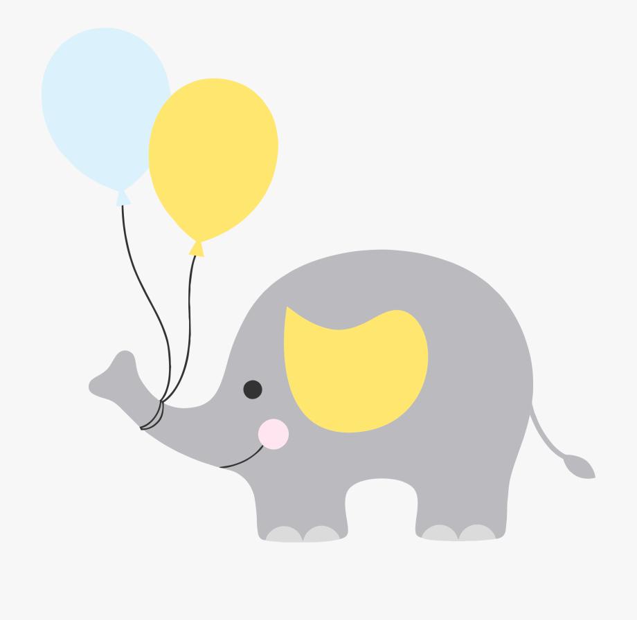 Elephants Clipart Grey.