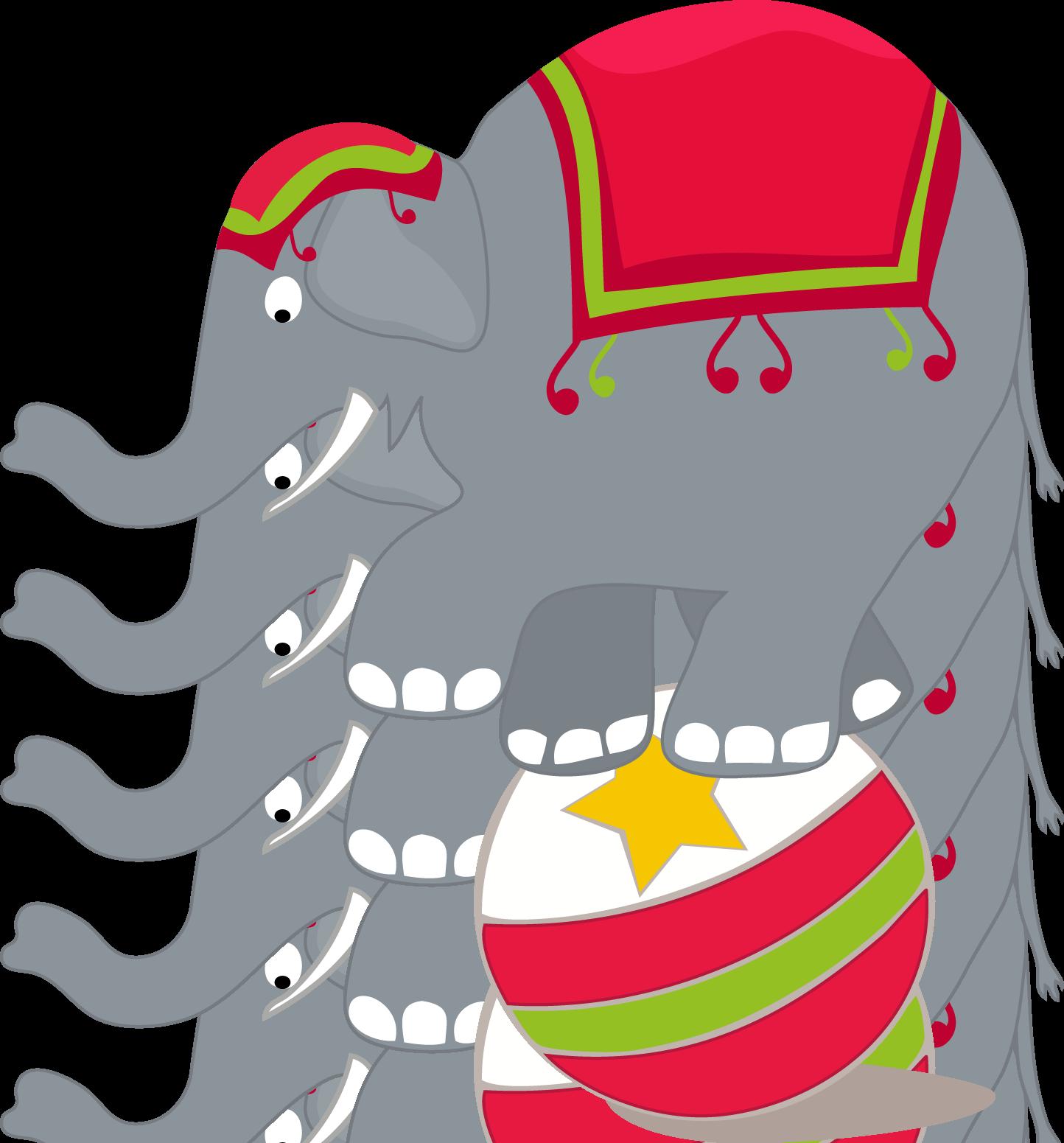 Elefante Circo Png.