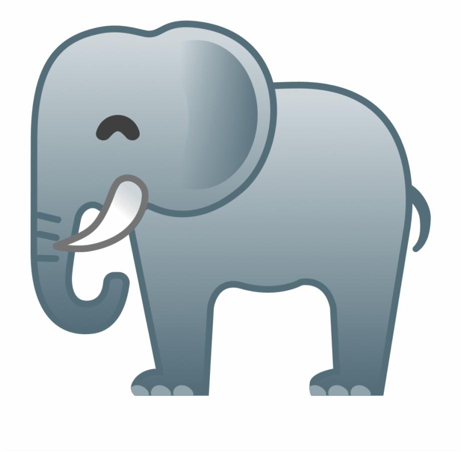 Happy Elephant Emoji Elefante Emoji Whatsapp.