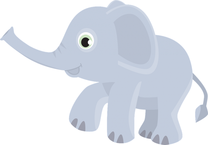 Elefante Png Desenho Vector, Clipart, PSD.