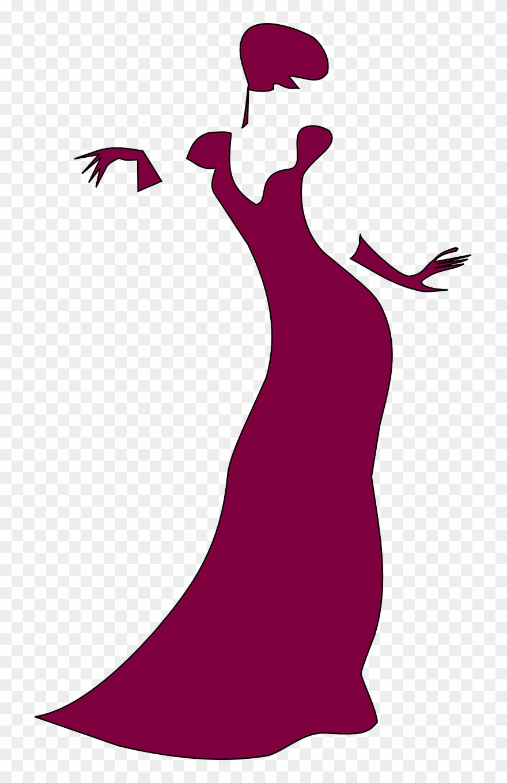 Elegance Clipart Elegant Lady.