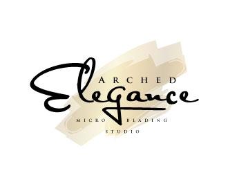 Arched Elegance logo design.
