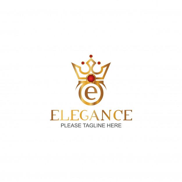 Elegance logo template Vector.