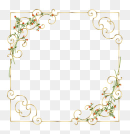 Elegant Border Png, Vector, PSD, and Clipart With Transparent.