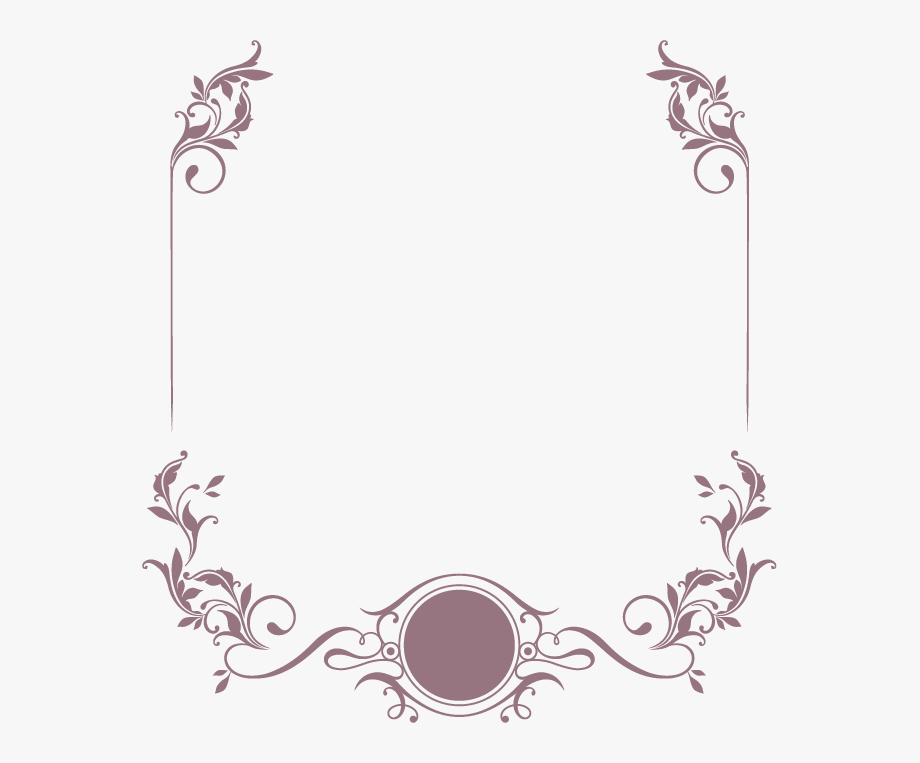 Pattern Border Png Clipart.