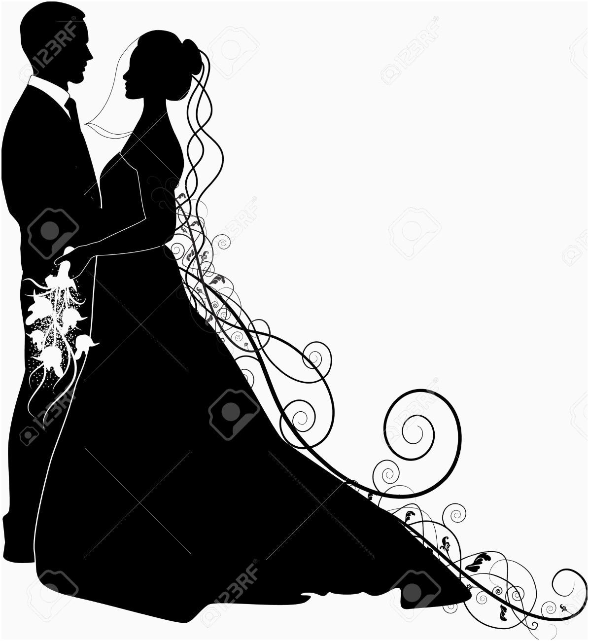 Elegant Wedding Clipart Images.