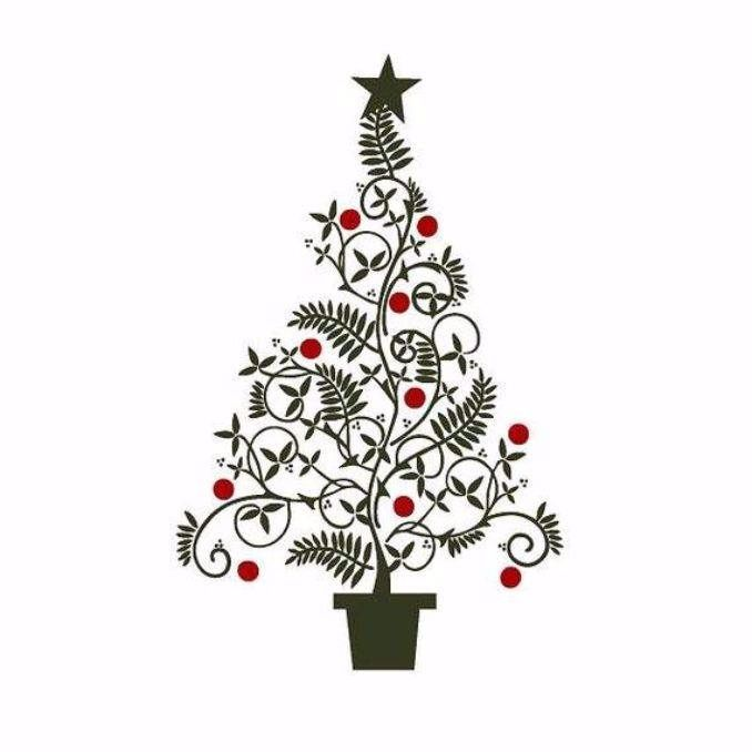 33 Cool Wall Christmas Tree Ideas For Your Home.