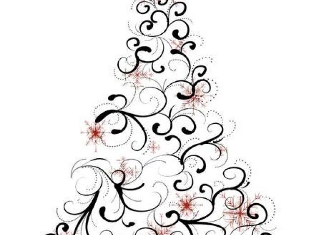 Elegant Christmas Clipart 24.