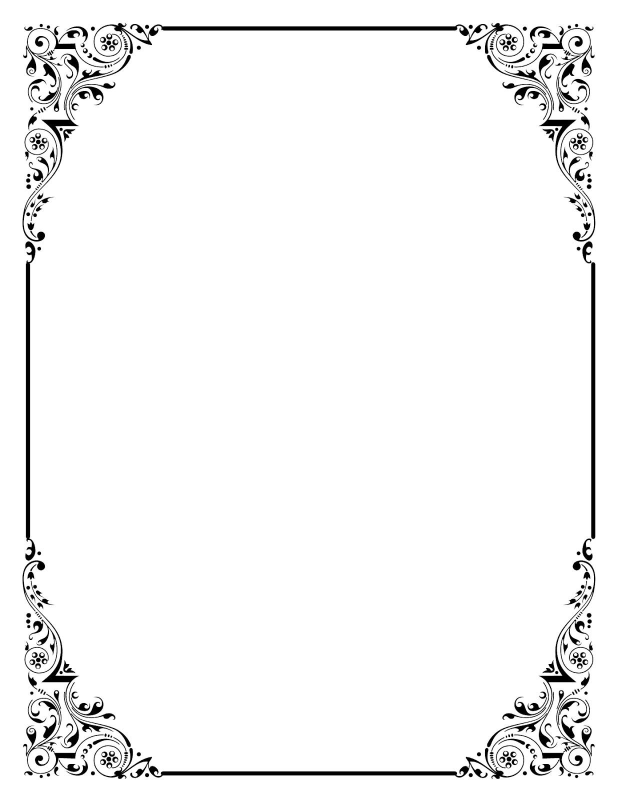 elegant frame clip art