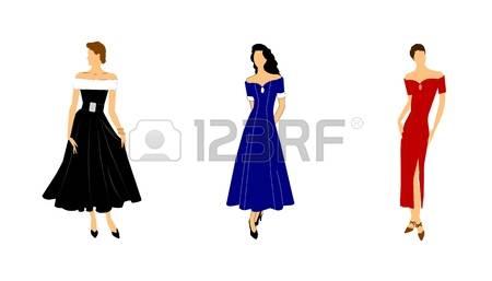 22,791 Elegant Dresses Stock Vector Illustration And Royalty Free.