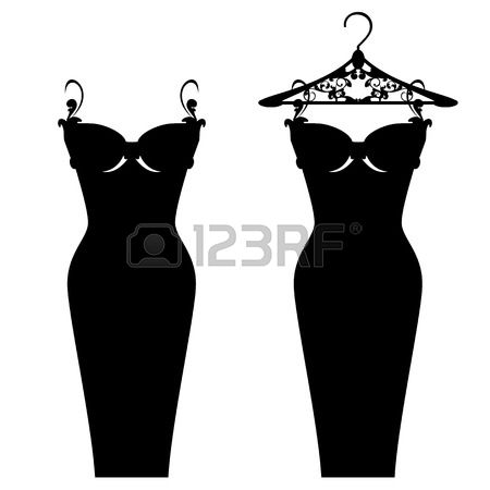 5,414 Dress On Hanger Cliparts, Stock Vector And Royalty Free.