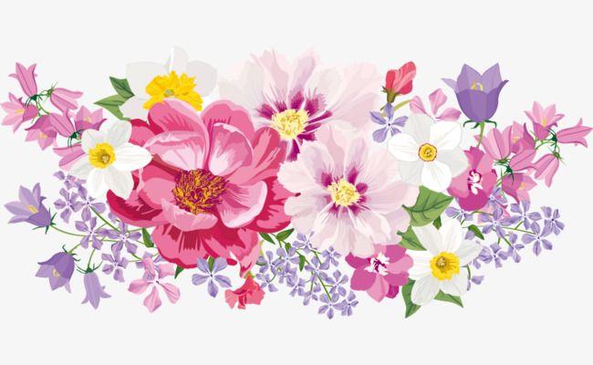 Elegant Watercolor Flowers, Watercolor Clipart, Elegant.