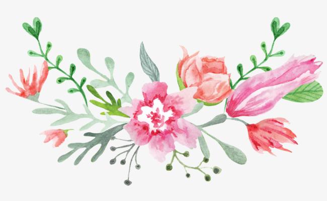 Elegant Flowers Clipart.