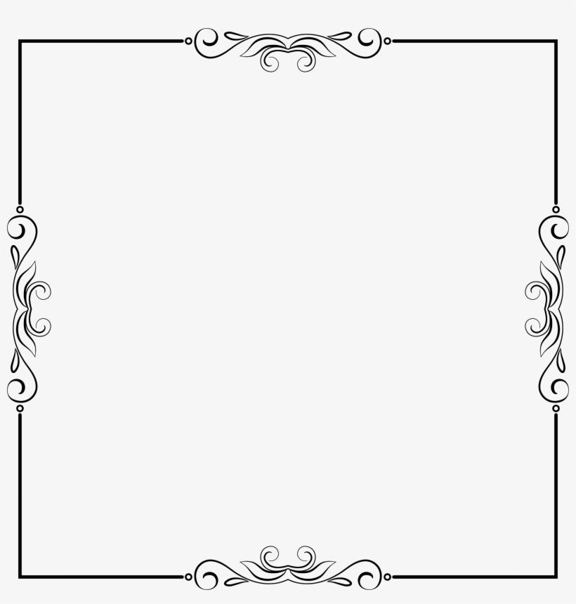 Clipart Elegant Frame Extrapolated.