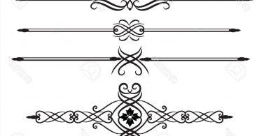 Elegant Lines Clip Art Archives.