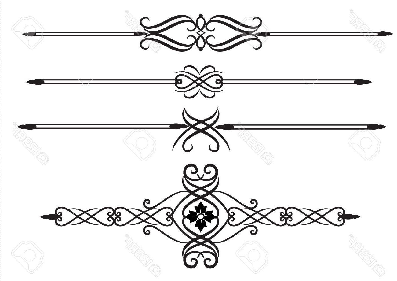 HD Elegant Lines Clip Art Image » Free Vector Art, Images, Graphics.