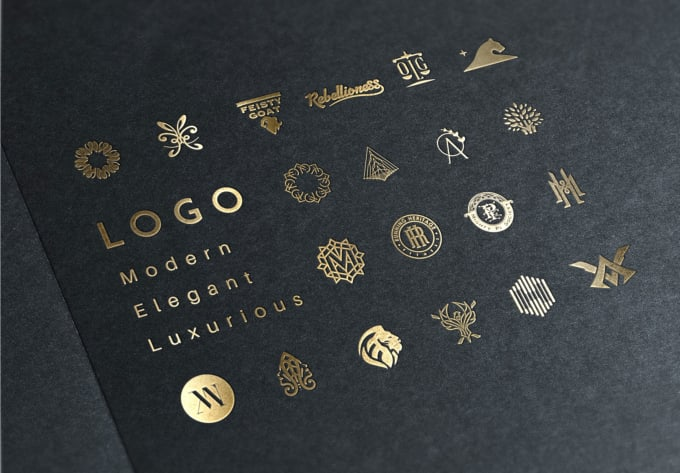 create luxury, elegant, modern logo design.